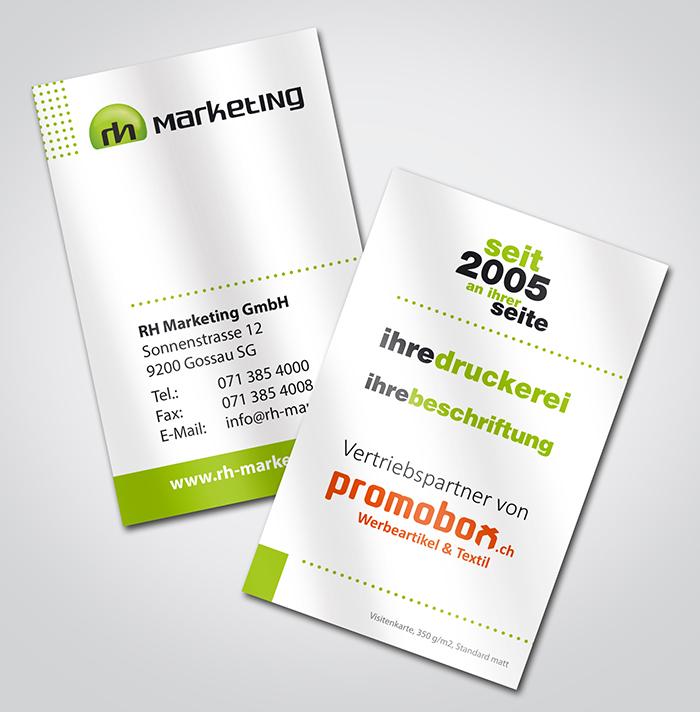 Ihre Druckerei Rh Marketing Papier Werbetechnik